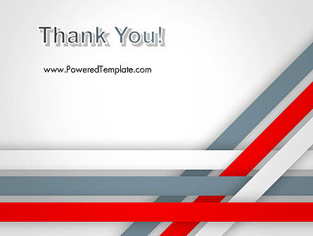Angle Stripes Border PowerPoint Template Slide 20