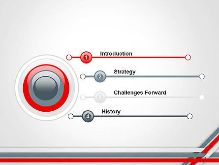 Angle Stripes Border PowerPoint Template Slide 3
