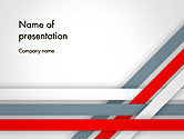 Abstract/Textures: Angle Stripes Border PowerPoint Template #14388