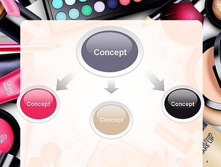Sets of Cosmetics PowerPoint Template, Slide 4, 14390, Careers/Industry — PoweredTemplate.com