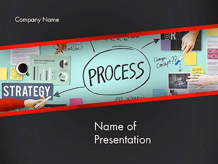 Process Action Activity Practice Procedure Task Concept PowerPoint Template, 14391, Consulting — PoweredTemplate.com