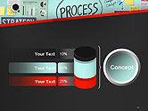 Process Action Activity Practice Procedure Task Concept PowerPoint Template#11