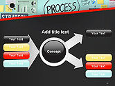 Process Action Activity Practice Procedure Task Concept PowerPoint Template#14