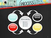 Process Action Activity Practice Procedure Task Concept PowerPoint Template#6