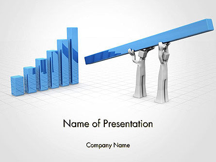 Teamwork to Financial Growth and Success PowerPoint Template