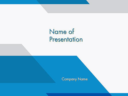 Overlapping Transparent Layers PowerPoint Template, 14395, Abstract/Textures — PoweredTemplate.com