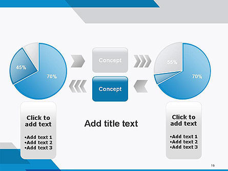 Overlapping Transparent Layers PowerPoint Template Slide 16