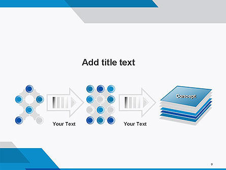Overlapping Transparent Layers PowerPoint Template Slide 9