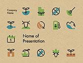 Careers/Industry: Modèle PowerPoint de production alimentaire durable #14396