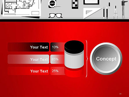 Construction Engineer Desktop PowerPoint Template Slide 11