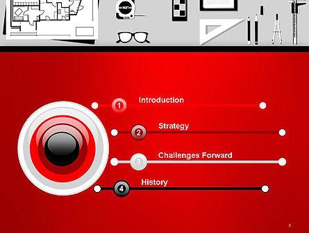 Construction Engineer Desktop PowerPoint Template, Slide 3, 14399, Construction — PoweredTemplate.com