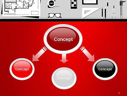 Construction Engineer Desktop PowerPoint Template, Slide 4, 14399, Construction — PoweredTemplate.com