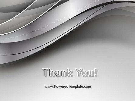 Elegant Waves Background PowerPoint Template Slide 20