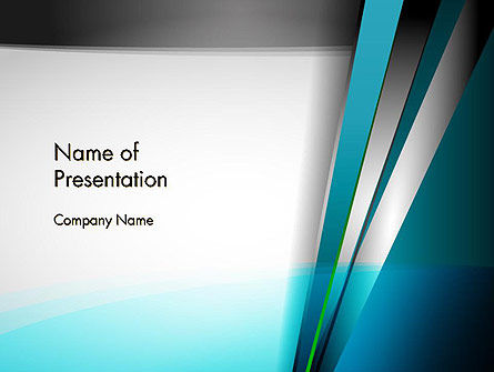 Abstract Geometric Futuristic PowerPoint Template