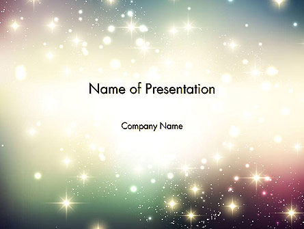 Abstract/Textures: Abstract Glitter Background PowerPoint Template #14418