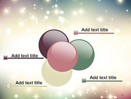 Abstract Glitter Background PowerPoint Template Slide 10