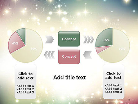 Abstract Glitter Background PowerPoint Template Slide 11