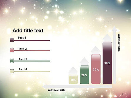Abstract Glitter Background PowerPoint Template Slide 8