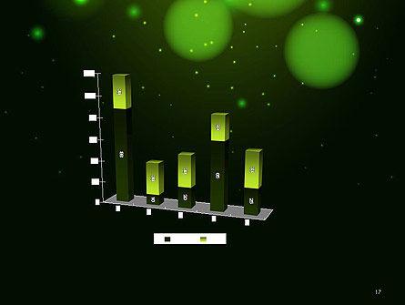 Green Magic Light Abstract PowerPoint Template Slide 17