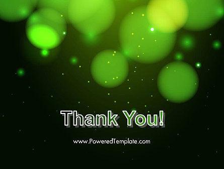 Green Magic Light Abstract PowerPoint Template Slide 20