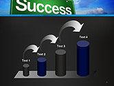 Success Green Waymark PowerPoint Template#7