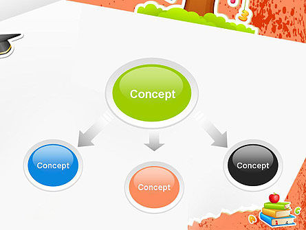 School Theme Background PowerPoint Template Slide 4