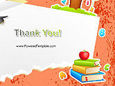 School Theme Background PowerPoint Template#20