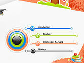 School Theme Background PowerPoint Template#3