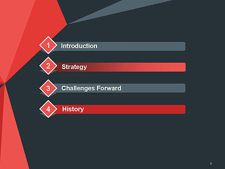 Abstract Triangles PowerPoint Template, Slide 3, 14429, Abstract/Textures — PoweredTemplate.com