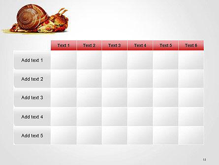 Sluggish Diet PowerPoint Template Slide 15
