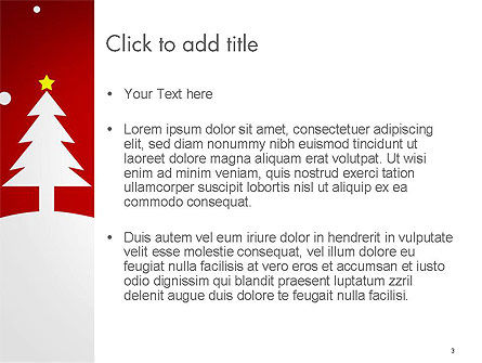 Christmas Day Background PowerPoint Template, Slide 3, 14437, Holiday/Special Occasion — PoweredTemplate.com