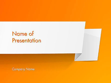 Paper Tag PowerPoint Template