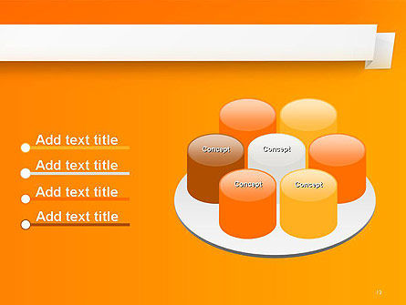 Paper Tag PowerPoint Template Slide 12