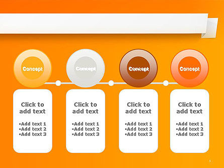 Paper Tag PowerPoint Template Slide 5