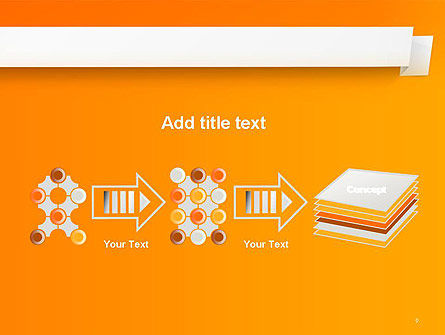Paper Tag PowerPoint Template Slide 9