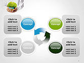 Man Hands Holding Money Tree PowerPoint Template#9