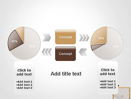 Cowboy Hand on Frame PowerPoint Template Slide 11