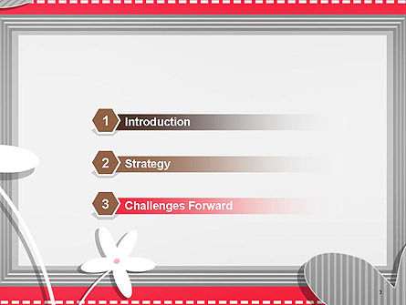 Frame Design for Baby Photo and Memories PowerPoint Template, Slide 3, 14453, Holiday/Special Occasion — PoweredTemplate.com
