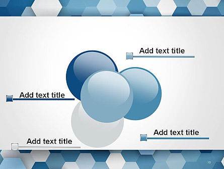 Hexagonal Mosaic Abstract PowerPoint Template Slide 10