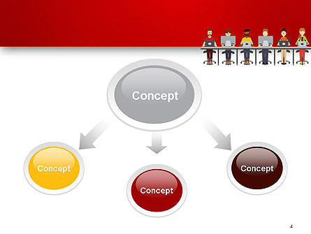 Coworking Office Space PowerPoint Template Slide 4