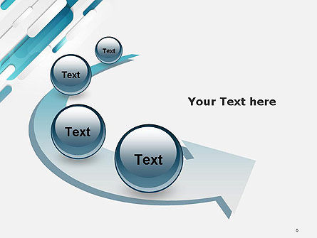 Abstract Blue Grey Geometric Tech PowerPoint Template Slide 6