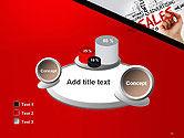 Sales Word Cloud PowerPoint Template#16