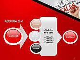 Sales Word Cloud PowerPoint Template#17