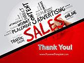 Sales Word Cloud PowerPoint Template#20