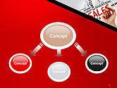 Sales Word Cloud PowerPoint Template#4