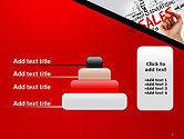 Sales Word Cloud PowerPoint Template#8