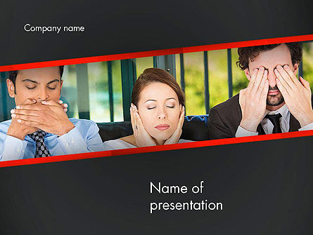 Communication Problem PowerPoint Template