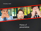 Business Concepts: Communication Problem PowerPoint Template #14473