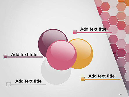 Abstract Hexagonal Mosaic PowerPoint Template Slide 10