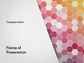 Abstract/Textures: Abstract Hexagonal Mosaic PowerPoint Template #14474